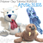 Polymer Clay ARCTIC BLAST Tutorial BUNDLE PACK by KatersAcres