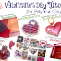 Free Polymer Clay Valentine's Day Tutorials by KatersAcres