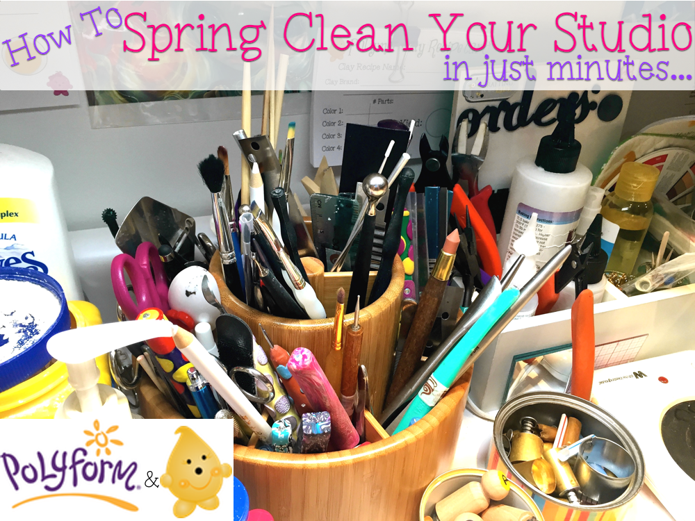 How to Spring Clean Your Studio by KatersAcres