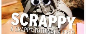 Polymer Clay Scrappy Tutorial by Martin Pottjewijd