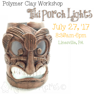 Tiki Porch Light WORKSHOP with Katie Oskin