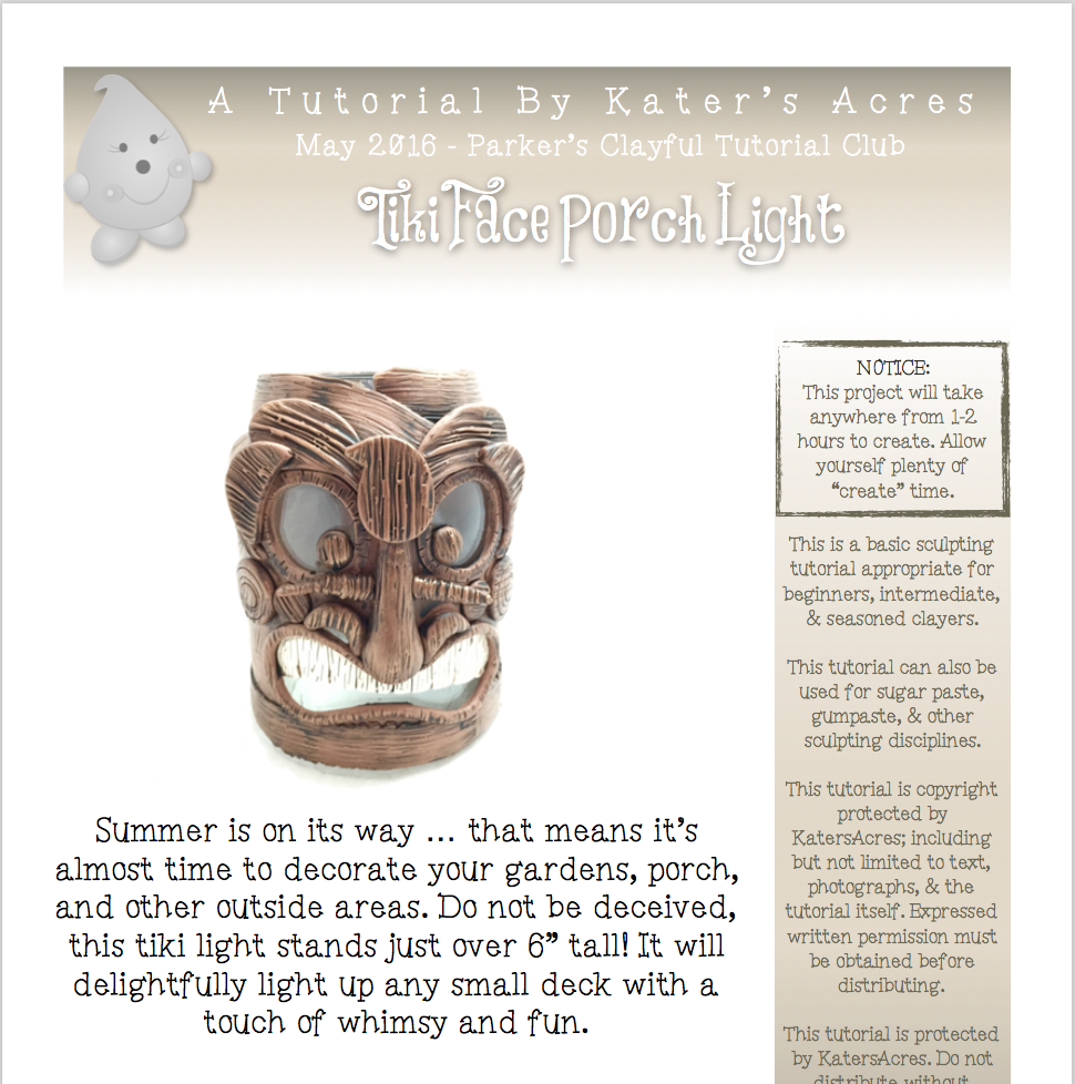 Tiki Porch Light PDF Preview