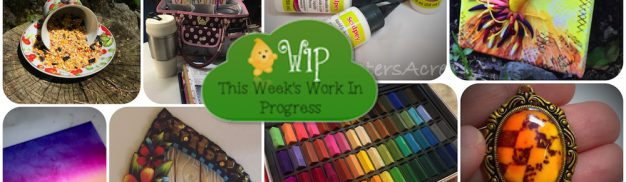 Work in Progress Wednesday at Kater's Acres | CLICK for Links, Tutorials, & So Much More