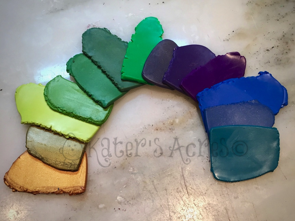 Making a Color Palette 101 - Whole Palette