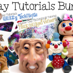 30 Polymer Clay Sculpting Tutorials BUNDLE Pack
