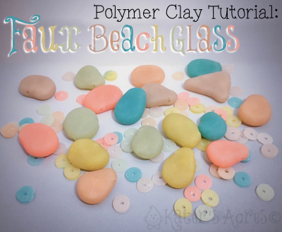 Faux Beach Glass Tutorial by KatersAcres