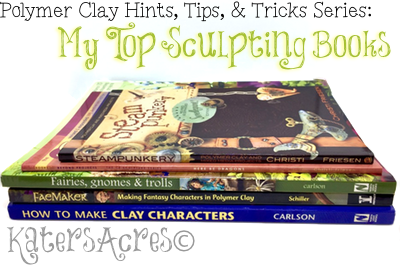 Top Sculpting Books in Polymer Clay by KatersAcres