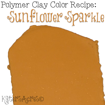 Fall 2017 Color Palette - Sunflower Sparkle by KatersAcres