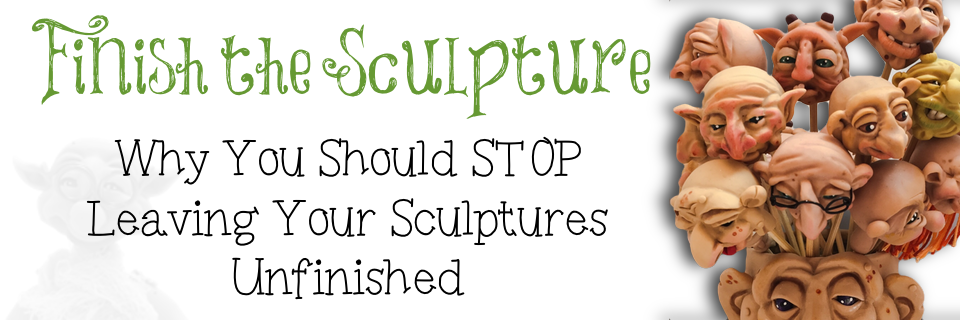 Finish the Sculpture by KatersAcres