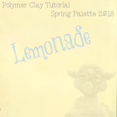 Spring 2018 Color Palette - Lemonade Color Recipe