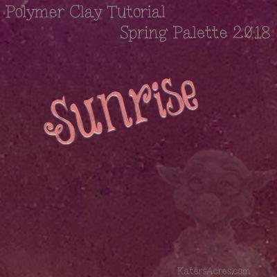 Spring 2018 Color Palette - Sunrise