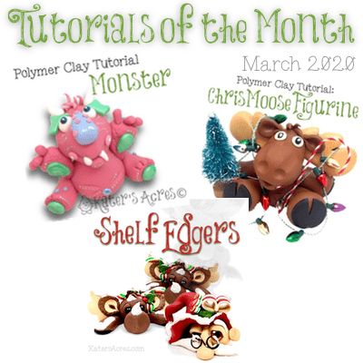 Tutorials of the Month - March 2020 from Kater's Acres | Review and Links