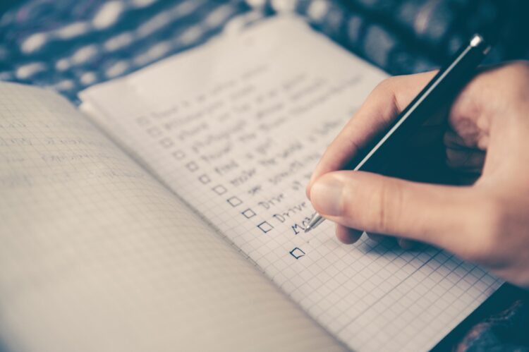 SMART Goal Technique Checklist