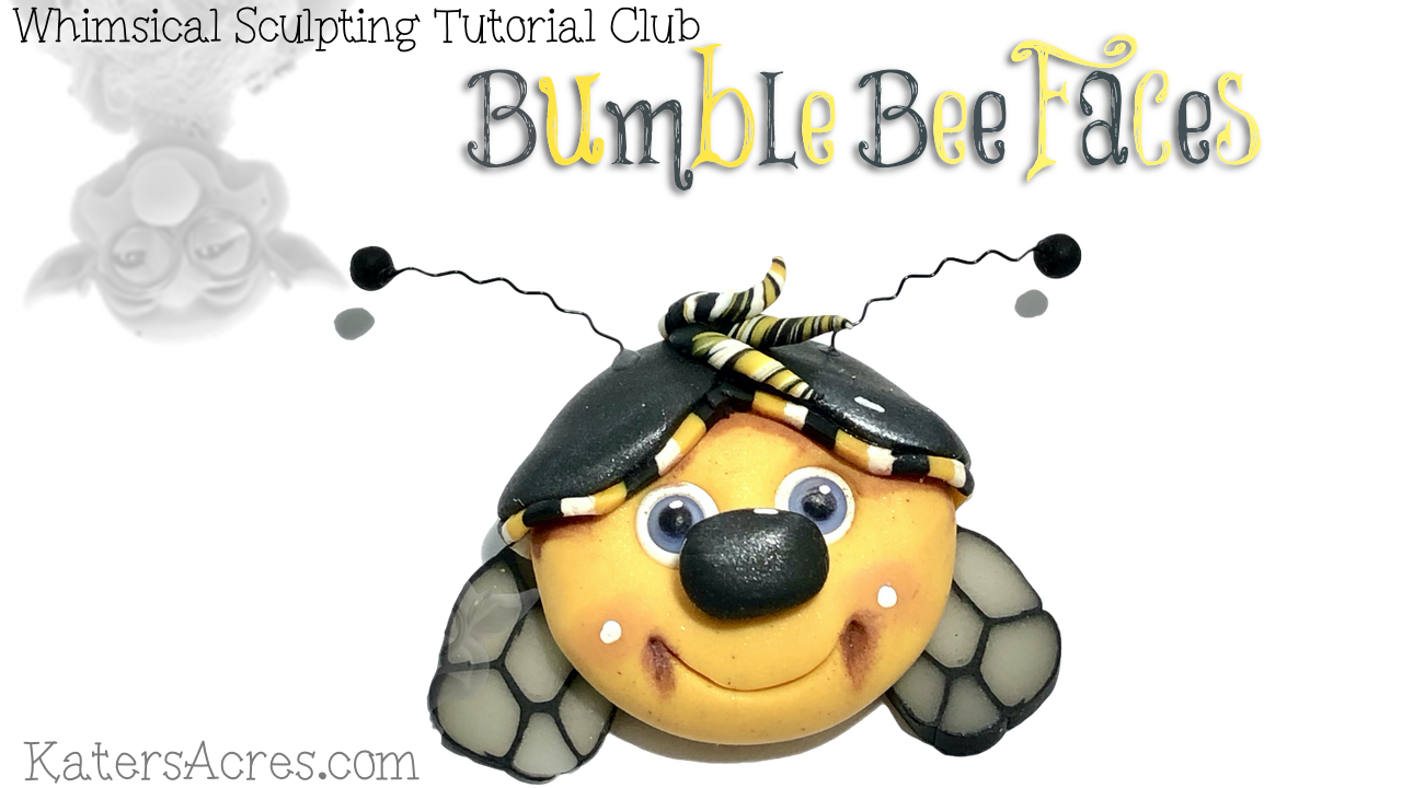 Bumble Bee Face Tutorial VIDEO