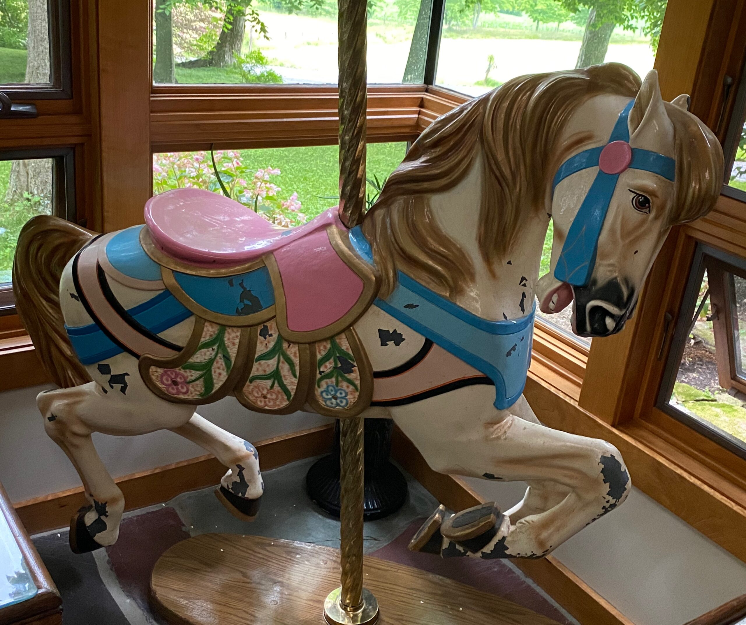 Full Sized Carousel Horse from Kater's Acres